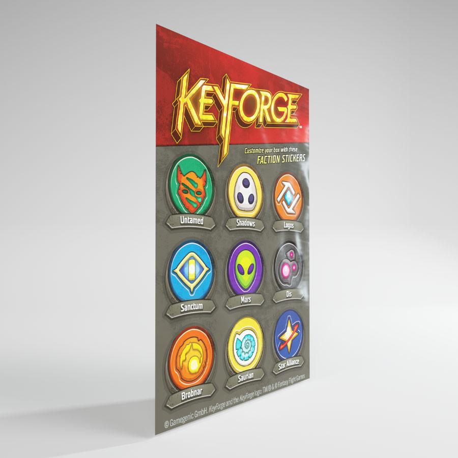 KeyForge Aries Deck Box: Black