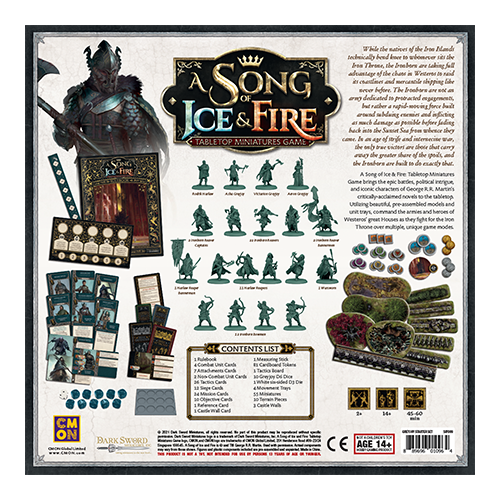 A Song of Ice & Fire: Greyjoy Starter Set