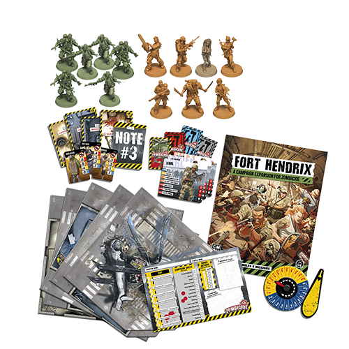 Zombicide 2nd Edition: Fort Hendrix