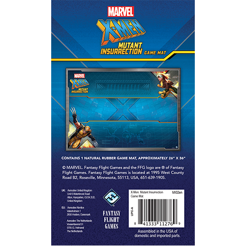 Marvel X-Men Mutant Insurrection: Game Mat