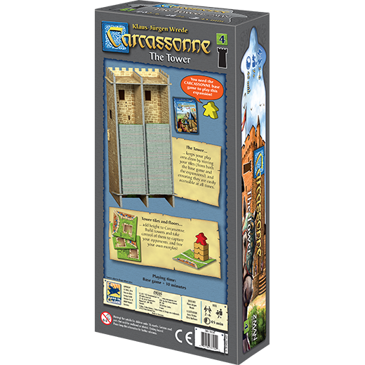 Carcassonne Expansion 4: The Tower