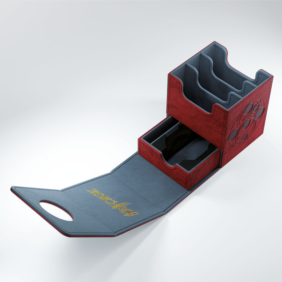KeyForge Vault Deck Box: Red