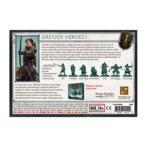 A Song of Ice & Fire: Greyjoy Heroes #1