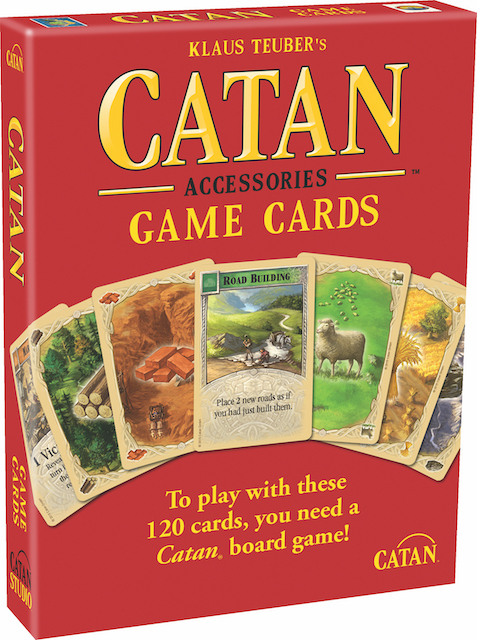 Catan Replacement Game Cards
