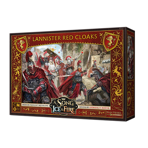 A Song of Ice and Fire: Lannister Red Cloaks