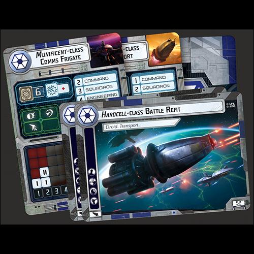 Star Wars Armada: Separatist Alliance Fleet Starter   Asmodee USA