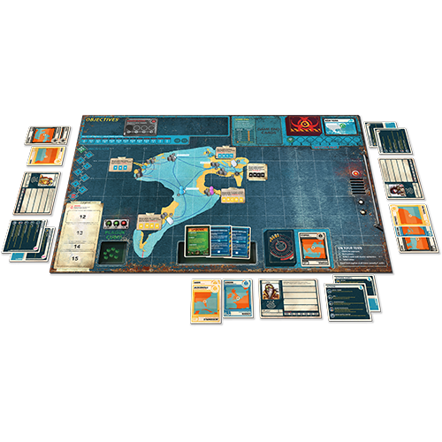 Pandemic Legacy: Season 2 (Yellow Edition)
