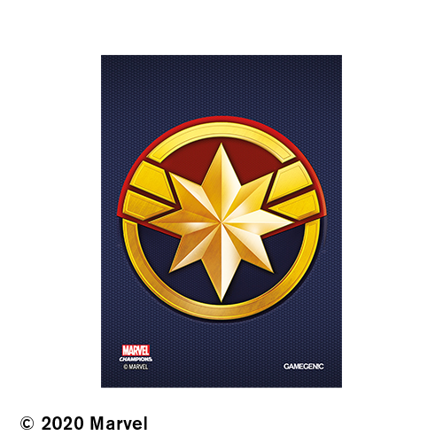 Marvel Champions Art Sleeves - Captain Marvel