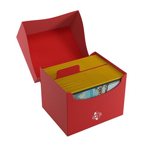 Side Holder 100+ Card Deck Box: XL Red
