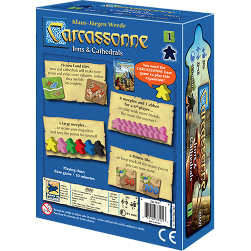 Carcassonne Expansion 1: Inns & Cathedrals