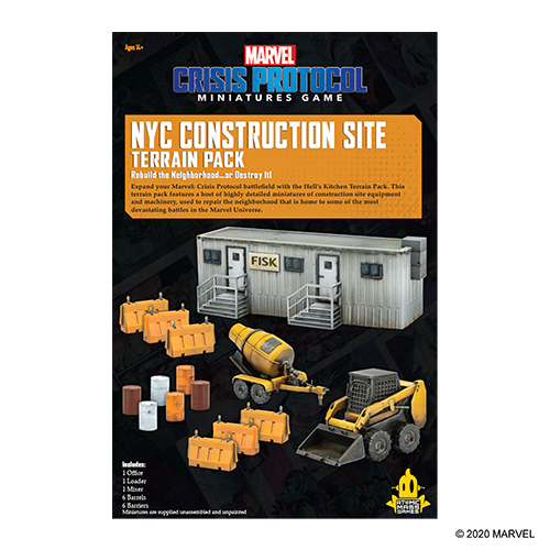 Marvel Crisis Protocol: NYC Construction Site Terrain