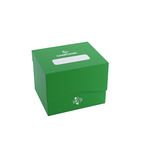 Side Holder 100+ Card Deck Box: XL Green