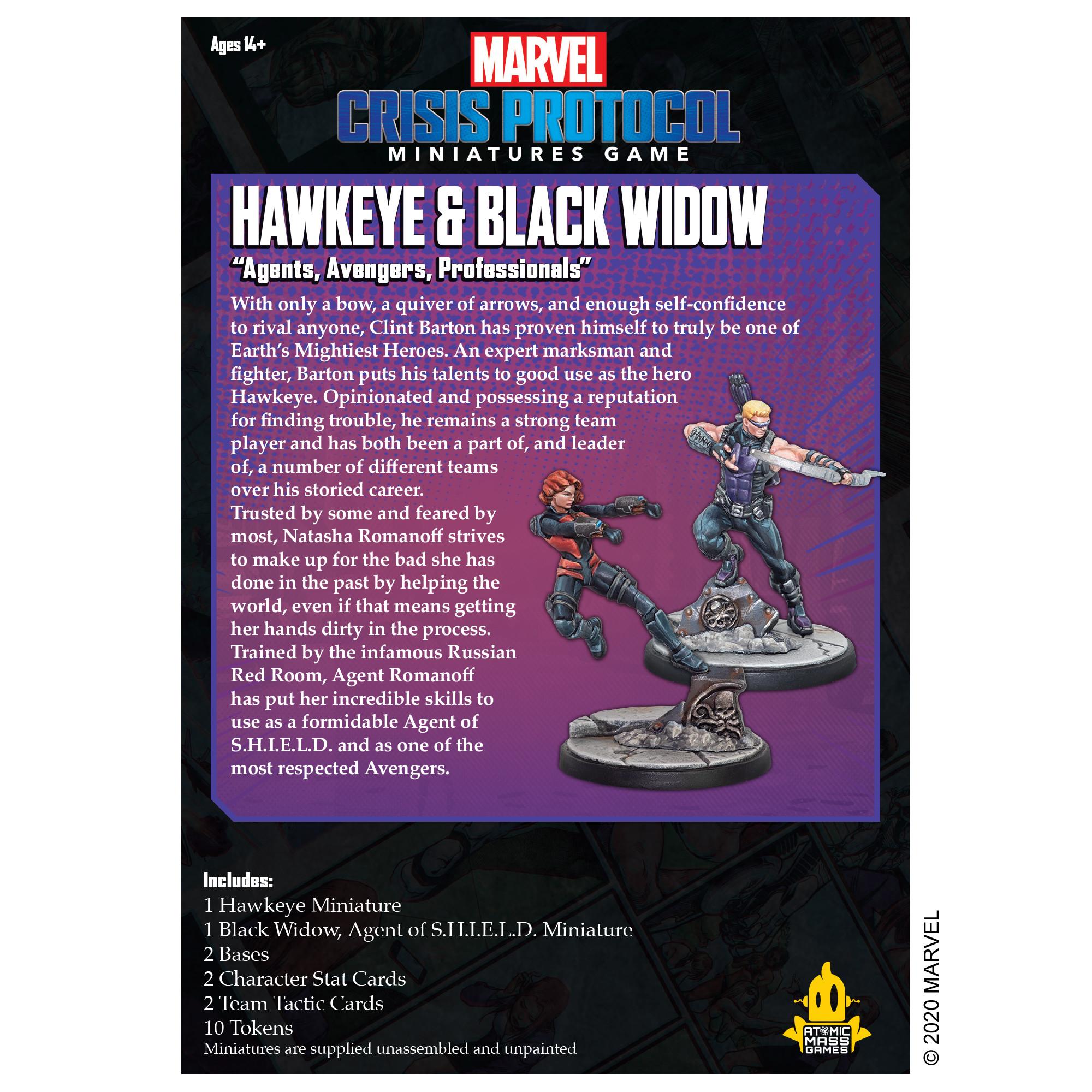 Marvel Crisis Protocol: Hawkeye & Black Widow