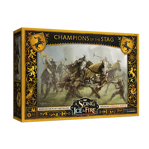A Song of Ice & Fire: Baratheon Champions of the Stag