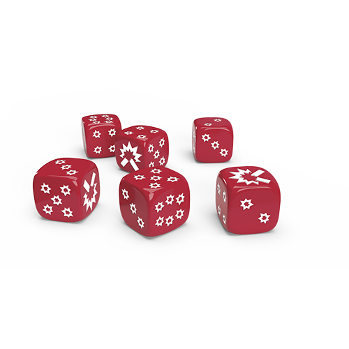Zombicide 2nd Edition: All-Out Dice Pack