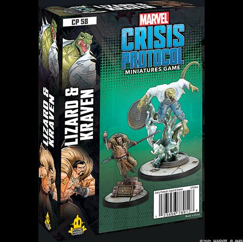 Marvel Crisis Protocol: Lizard and Kraven
