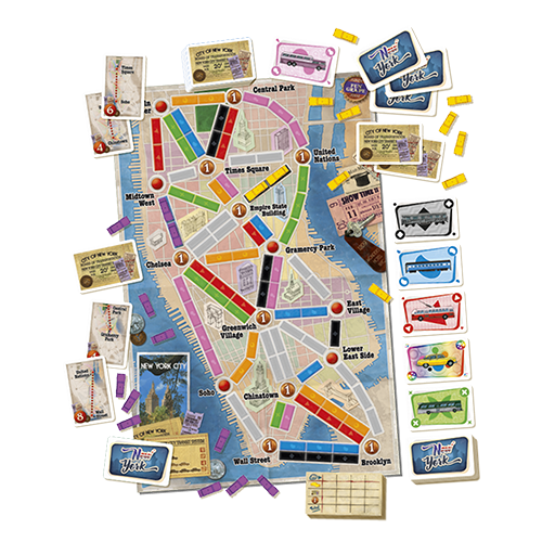 Ticket to Ride: New York City