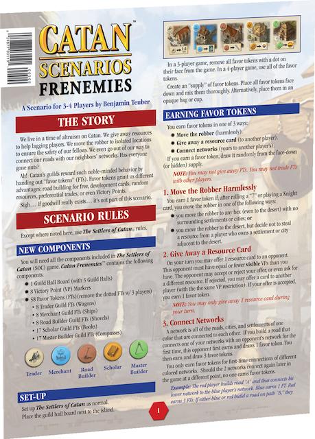 Catan Scenarios: Frenemies of Catan