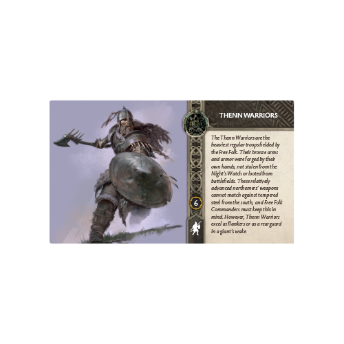 A Song of Ice & Fire: Free Folk Thenn Warriors Expansion