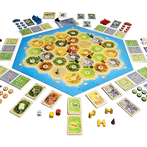 Catan: Cities & Knights 5 - 6 Player Extension