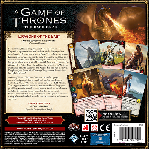 A Game of Thrones LCG 2nd Edition: Dragons of the East