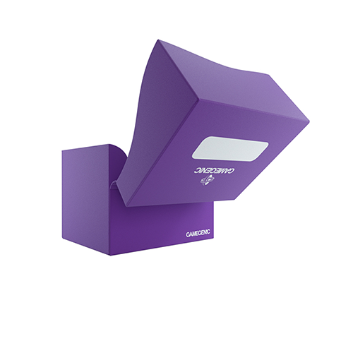 Side Holder 100+ Card Deck Box: XL Purple