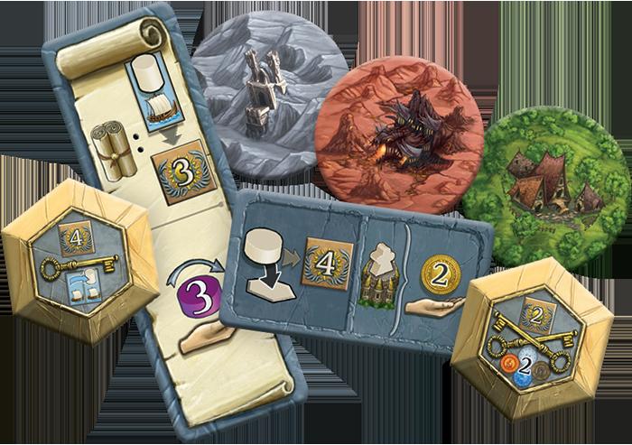 Terra Mystica Mini Expansion