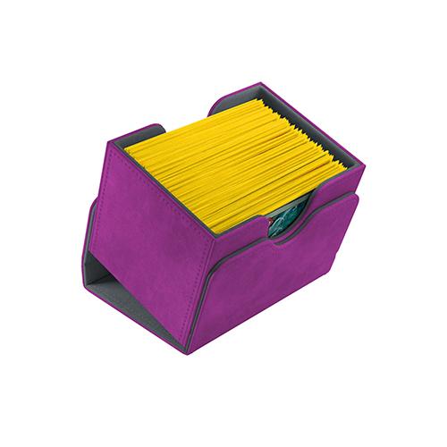 Sidekick 100+ Card Convertible Deck Box:: Purple