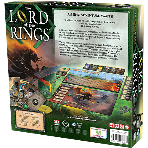 The Lord of the Rings: The Board Game Anniversary Edition