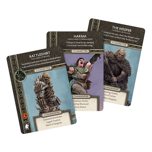 A Song of Ice & Fire: Free Folk Heroes Box #1 Expansion