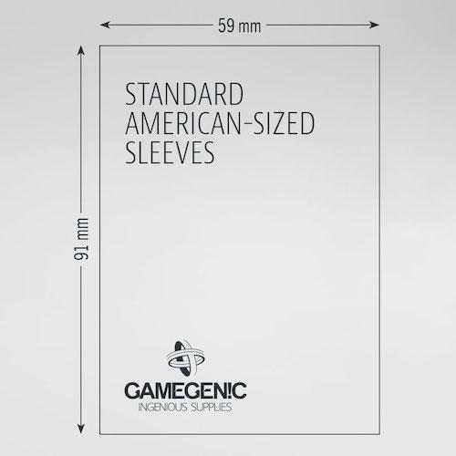 PRIME Standard American-Sized Sleeves 59 x 91 mm