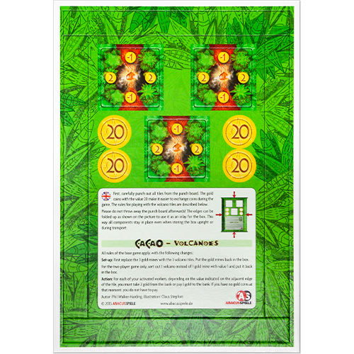 Cacao: Volcanoes Mini Expansion