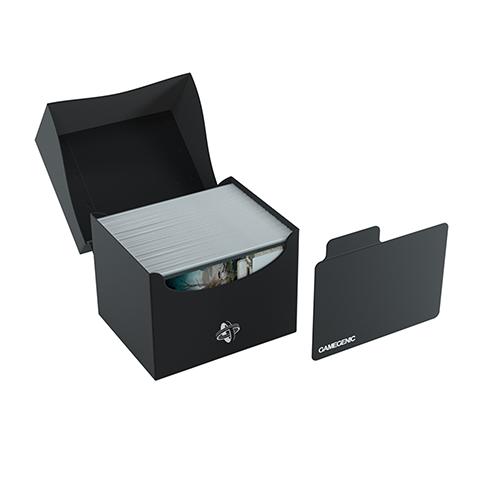 Side Holder 100+ Card Deck Box: XL Black