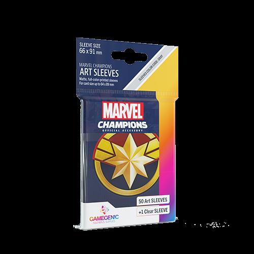 Marvel Champions Art Sleeves - Captain Marvel