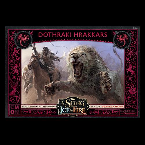 A Song of Ice and Fire: Targaryen Dothraki Hrakkers