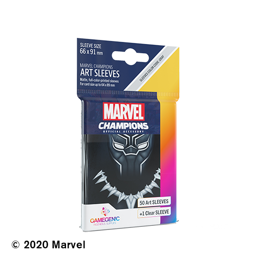 Marvel Champions Art Sleeves - Black Panther
