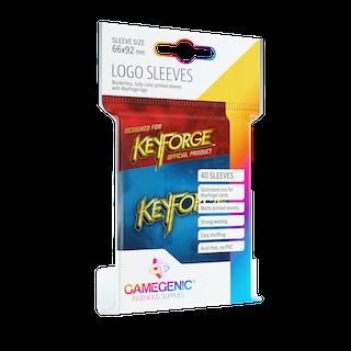 KeyForge Logo Sleeves: Blue