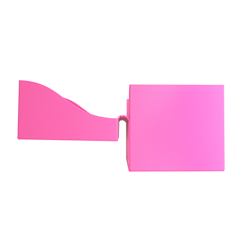 Side Holder 100+ Card Deck Box: XL Pink