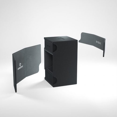 Watchtower 100+ Card Convertible Deck Box: Black