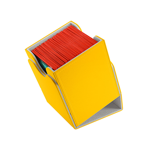Squire 100+ Card Convertible Deck Box: Yellow