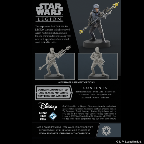 Star Wars Legion: Agent Kallus