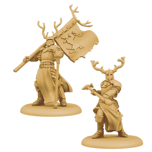 A Song of Ice & Fire: Baratheon Stag Knights