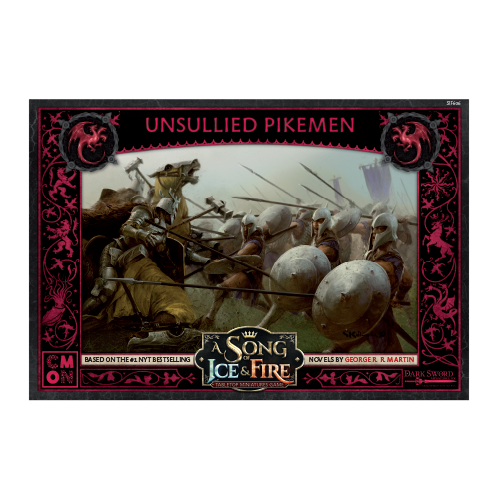 A Song of Ice & Fire: Targaryen Unsullied Pikemen