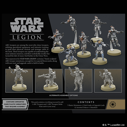 Star Wars Legion: ARC Troopers Unit Expansion