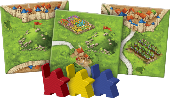 Carcassonne Expansion 9: Hills & Sheep