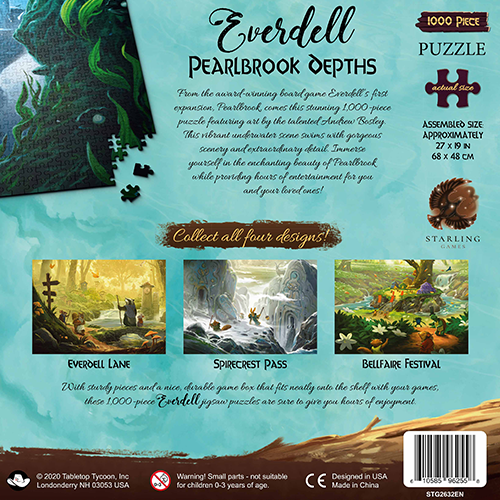 Everdell Puzzles: Pearlbrook Depths