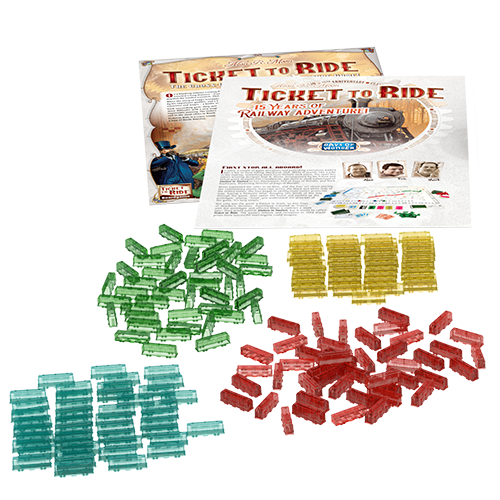 Ticket to Ride 15th Anniversary Ed