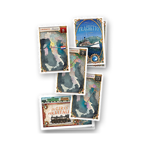 Ticket to Ride: Japan & Italy - Map Collection 7