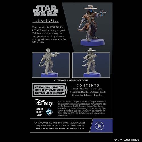 Star Wars legion: Cad Bane Operative Expansion