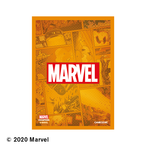 Marvel Champions Art Sleeves - Marvel Orange